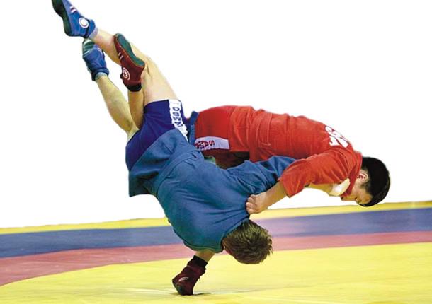 В Новороссийске прошли соревнования по самбо