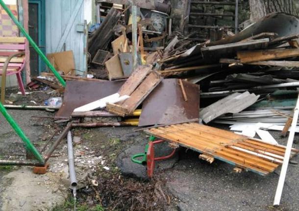 В Восточном районе демонтируют незаконные объекты