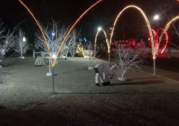 Станицу Раевскую украшают к Новому году